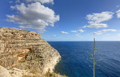 HDR photo of Blue Grotto area in Malta, Europe Stock Image