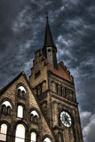 HDR photo of the of the Evangelical Christ' Church in Ostrava CZ Royalty Free Stock Image