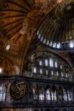 HDR photo of the Hagia Sophia (Ayasofya) interior Stock Photo