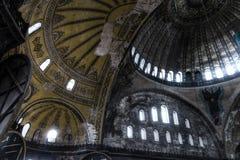 HDR photo of the Hagia Sophia (Ayasofya) interior Royalty Free Stock Photos