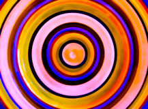 HDR Photo image of Circles of color Royalty Free Stock Photography