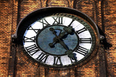Free HDR Photo Of The Clock Of The Evangelical Christ  Church In Ostrava CZ Royalty Free Stock Photos - 54056008