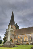 HDR photo of old church in England. United Kingdom Stock Image