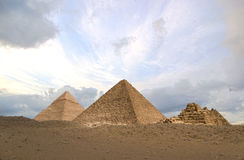 hdr piramidy Fotografia Stock
