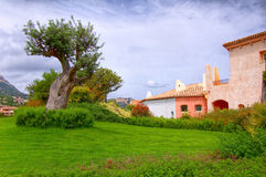 Hdr Porto Cervo royalty free stock photos