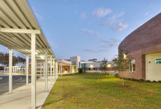 HDR of Primary School Royalty Free Stock Photography