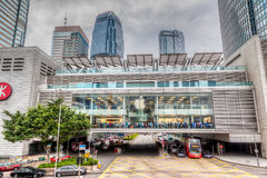 HDR Rendering of Apple Store in Hong Kong Stock Photography