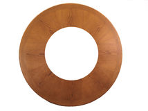 HDR Round wooden frame Royalty Free Stock Photos