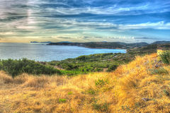 Hdr by the sea Royalty Free Stock Photo