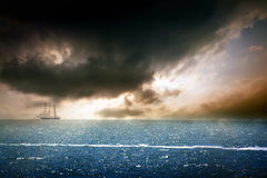 HDR seascape Stock Photo