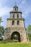 HDR shot of an ancient castle tower in Remplin Royalty Free Stock Images