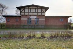 HDR-shot of Historic train station in Dargezin, Mecklenburg-Vorpommern, Germany Royalty Free Stock Image