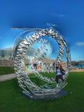 Hdr-Skulptur adler Planetarium Stockbild