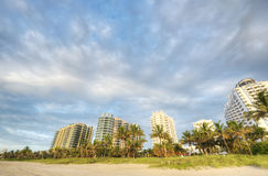 HDR of South Beach Stock Photography