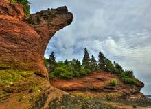 HDR St Martins Caves Jagged Royalty Free Stock Image