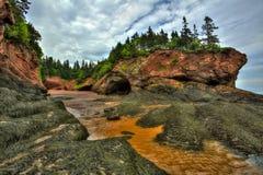 HDR St. Martins Caves Seaweed Formation lizenzfreie stockbilder