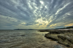 HDR St Martins Caves Sky Royalty Free Stock Photo
