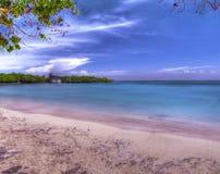 Hdr strand Arkivbild