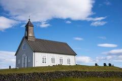 HDR Strandarkirkja, Selvogur, Islandia 2 Foto de archivo libre de regalías
