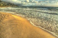 Hdr strandremsa Arkivbilder