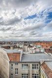 HDR strzelał: morze Berlin domy Fotografia Royalty Free
