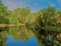 HDR-Teich 2 Stockbild