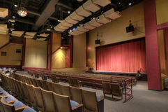 HDR of Theater Royalty Free Stock Image