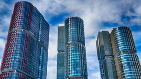 HDR The Three Towers royalty free stock photo