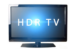 HDR TV Concept Stock Photo