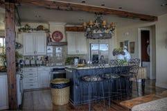 HDR van keuken Stock Afbeeldingen