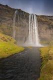 HDR van watervallen in IJsland Royalty-vrije Stock Afbeeldingen