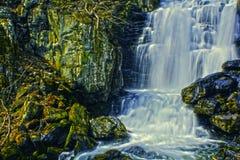 HDR vattenfall Royaltyfri Fotografi