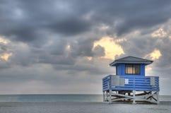 HDR of Venice Beach Stock Photo