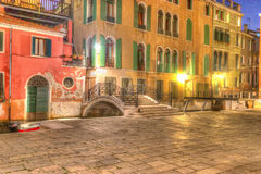 Hdr Venice corner Royalty Free Stock Photography