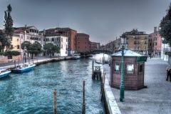 Hdr in Venice Stock Photo