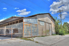 HDR-Warehouse in Ybor City,Florida Stock Photography