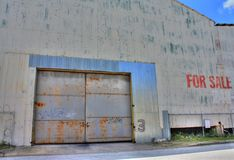 HDR-Warehouse in Ybor City,Florida Stock Photo