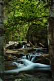 HDR Wasserfall oder Strom Lizenzfreies Stockfoto