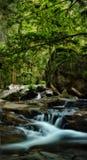 HDR Wasserfall oder Strom Stockfotografie
