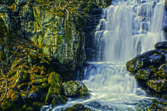 HDR Waterfall Royalty Free Stock Photography