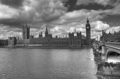 HDR Westminster Royalty Free Stock Photography