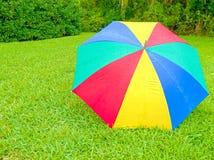HDR Wet umbrella Royalty Free Stock Photos
