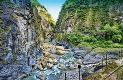 HDR wizerunek Taroko park narodowy w Tajwan zdjęcie royalty free