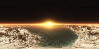 HDRI, Equirectangular-projectie, Sferisch panorama , Milieukaart Stock Foto