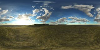 HDRI, Equirectangular projection, Spherical panorama., Environment map. 3D rendering vector illustration