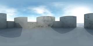 HDRI map. Environment map. HDRI map. Equirectangular projection. Spherical panorama. Abstract background Royalty Free Stock Images