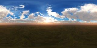 HDRI miljööversikt Fotografering för Bildbyråer