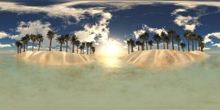 HDRI miljööversikt Royaltyfria Bilder