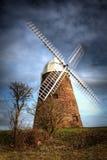 hdrwindmill Arkivbild