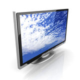 HDTV Foto de Stock Royalty Free